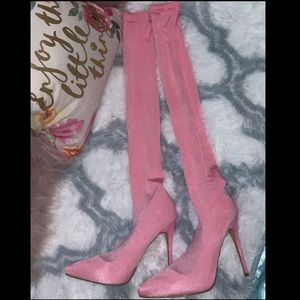 Fashion Nova Heeled Boot - Brand New & Never Worn